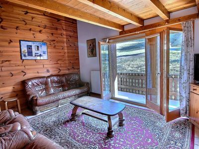 Photo for SKI-IN / SKI-OUT Les Crosets, big apartment with 3 bedrooms, wifi, indoor parking space, on the slop