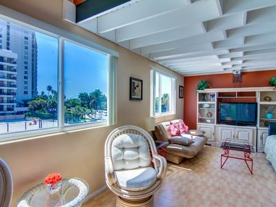 Photo for Double-loft condo with beach access, pool views, and a shared tennis court!