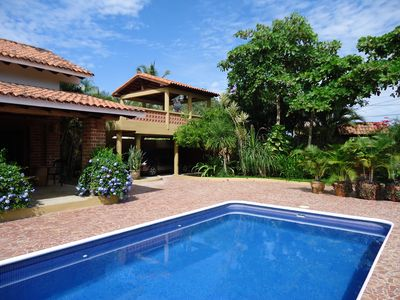 Photo for Casa Cabra - Beautiful Hacienda style house in San Pancho