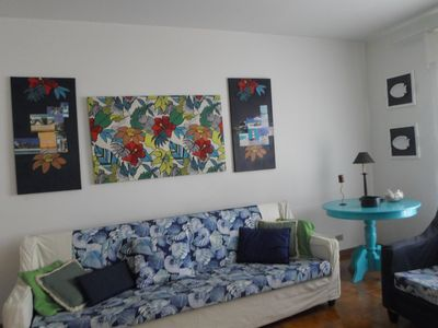 Photo for Large and comfortable apartment for up to 8 people, on the Enseada