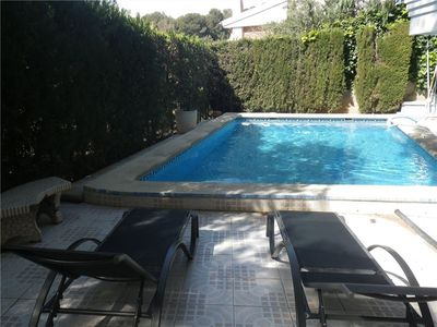 Photo for Beautiful house with private pool in 100m from Cala Crancs (Cap Salou)