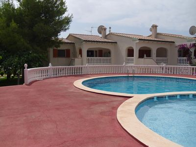 Photo for Los Jardines( Paradise) in a Beautiful Quiet Complex 5 Minutes Walk To The Beach