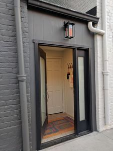 Private Entrance right on Jefferson Street.