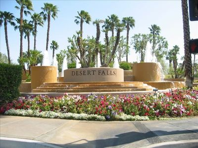 Photo for Desert Falls Country Club Golf Course luxury 2 bedroom COACHELLA DISCOUNT