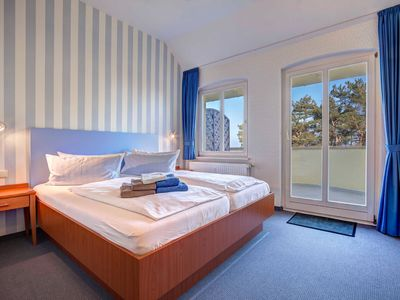 Photo for 04, double room with sea view and balcony - Hotel Villa Seeschlößchen 3 ***