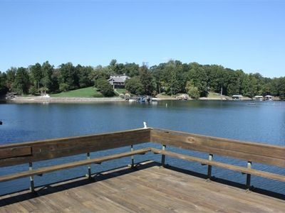 Photo for Secluded Cove off Main Channel with one of the Best Docks on LKN!