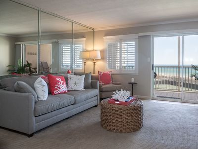 Photo for Sweet Dreams are made of this! Renovated Beachfront luxury condo (306)