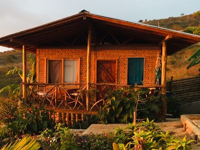 Cabin for 2 persons with private bathroom, and kitchen.