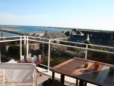 Photo for Apartment T3 - Etel - With Stunning Views Of The Grand Large