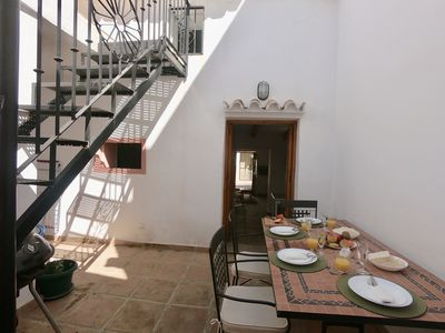 Photo for Townhouse Old Town - Close to the beach - Terrace and patio
