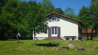 Photo for CHALET 6P, HAUTES VOSGES, ALTITUDE 550m, VERY QUIET, HIKING, BICYCLES, LAKE