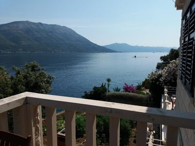 Photo for Holiday apartment Korčula for 1 - 4 persons with 2 bedrooms - Holiday apartment