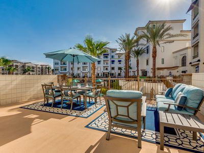 Photo for POOLSIDE RESORT CONDO with ENTERTAINERS PATIO in OCOTILLO! Minimum Stay 30 Nights!
