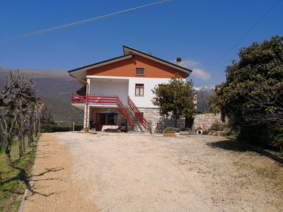 Beautiful two apartment home with amazing views  and large garden