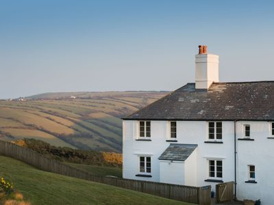 Photo for Cornish Slate Cottage On Cliffs great prices for June and July.
