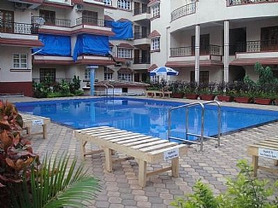 Photo for Calangute, Goa, Kyle Gardens, Ground floor Apt within beautiful complex