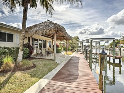 Photo for Waterfront Matlacha Home w/Private Dock, Boatlift!