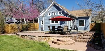 Relax on the private, spacious patio