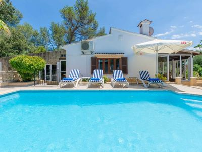 Photo for Beautiful vacation house 'Crestaix' in Majorca with Pool, Barbecue and WiFi.