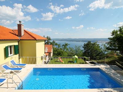 Photo for NEW! Villa Maruncela with sea and island views, 5 bedrooms, private pool, gym
