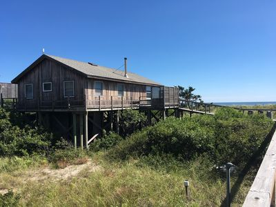 Photo for 3BR house with direct ocean views in Water Island, Fire Island!