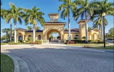 Entrance to Gardens of BeachWalk, Clubhouse/Pool/Spa/Fitness Center