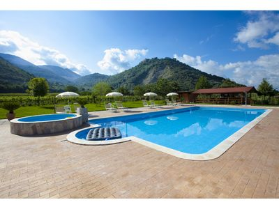 Photo for Le Camere Pinte: New Tellus apartments,  pool use