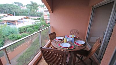 Photo for Triplex apartment 4 people - Downtown - Near the beach - Sainte Maxime