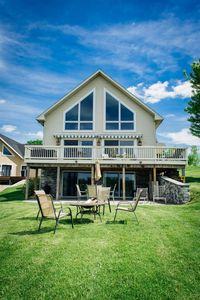 Photo for BOOK NOW FOR THE HOLIDAYS! Beautiful Spacious Lakefront Home, Sleeps 12 & Pets