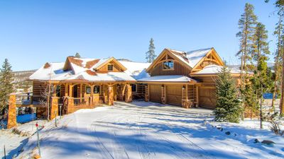 Photo for Views of the 10 mile range - 7 min from the slopes in this luxurious chalet!