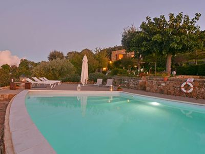 Photo for 4 bedroom Villa, sleeps 8 in Gibilmanna with Pool and WiFi