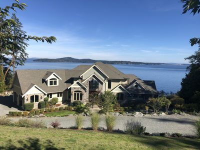 Photo for Oceanfront Villa in the heart of the Vancouver Island Wine Country