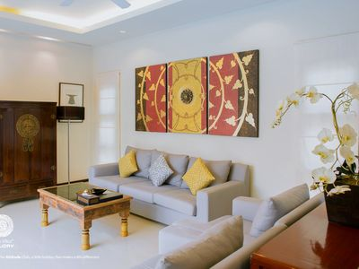 Photo for VD6 : Oriental Naiharn Private Pool villas 3 Bedrooms