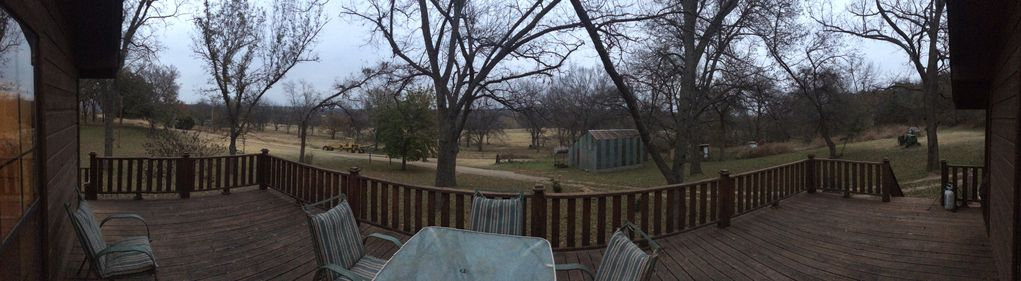 Canyon Hill Cabin  set in the hollers of Dougherty between Sulphur & Davis, OK.
