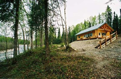 Photo for MINUTES OFF PARKS HWY W/WiFi EXPERIENCE AK 27 ACRES RIVERFRONT WILLOW CREEK INN