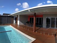Well maintained, clean and tidy, affordable for what you get, modern beautiful beach house