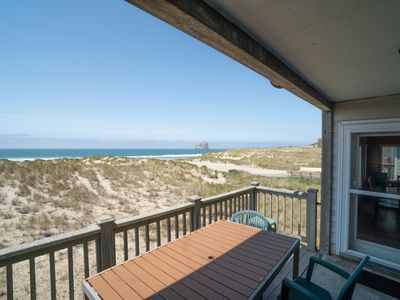 Photo for Enjoy Oceanfront Views of Haystack Rock at this 3 Bedroom in Pacific City, OR