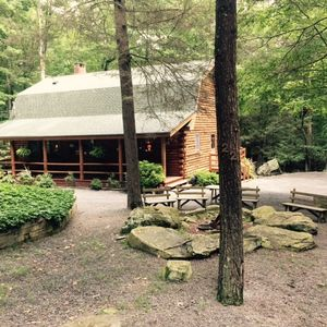 Photo for Luxury Log Lodge - Lake Wallenpaupack community access