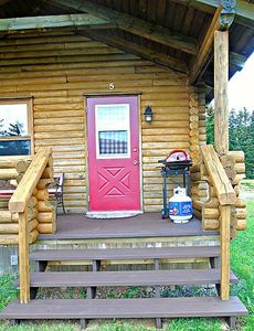 Photo for Cajun Cedar Log Cottages 1 Bdrm - Cape Breton Unit 3
