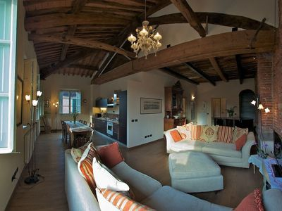 Photo for Beautifully decorated 3-bed apartment with original features in centre of Lucca