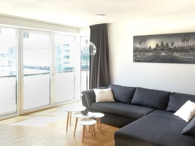 Photo for Central 65sqm city apartment with balcony
