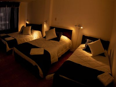 Photo for 16 fully furnished comfortable rooms in the best area north of Quito.
