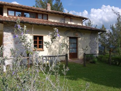 Photo for Lovely loft in the green hills of Umbria