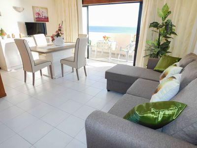 Photo for Lovely apartment for 4 people with pool, WIFI, TV, balcony and parking