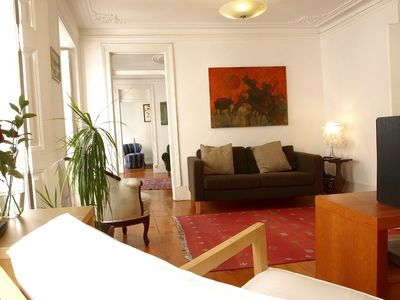 Photo for Charming Apartment with Large Terrace in Lisbon Center - Your nest at Chiado