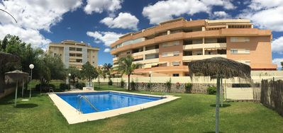 Photo for Apartment with swimming pool in Torremolinos family (6 persons) in