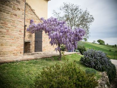 Photo for Large child friendly garden country accommodation With pool,warm Italian Welcome