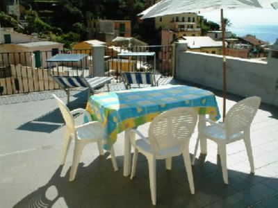 Photo for CINQU TERRE In the hearth the village a fine apartment with terraces in the sun