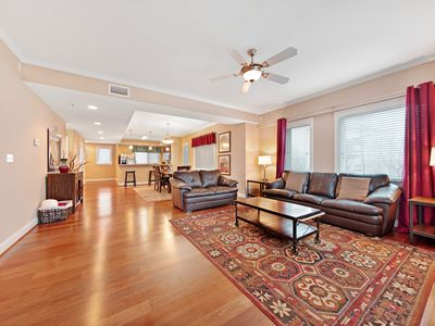 Photo for Luxury condo w/ forest & mountain views, a private balcony, & covered parking!