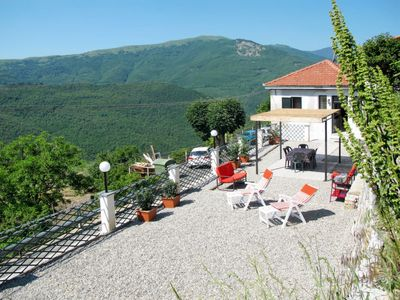 Photo for Vacation home Casa Manuela (CSB215) in Colle San Bartolomeo/Cesio/Caravonica - 5 persons, 2 bedrooms